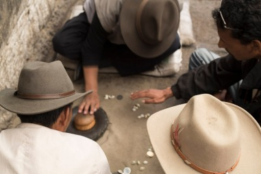 Dice and cowries, Lhasa