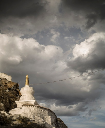 Potala chorten, Lhasa