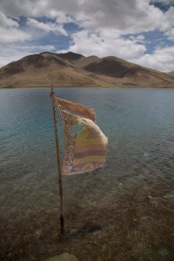Prayer flag 2, Yamdrok-tso
