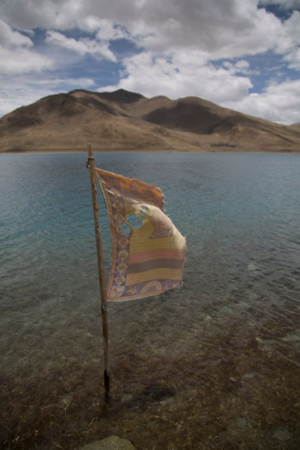 Prayer flag 2, Yamdrok-tso