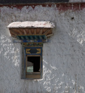 Woodwork, near Gyantse