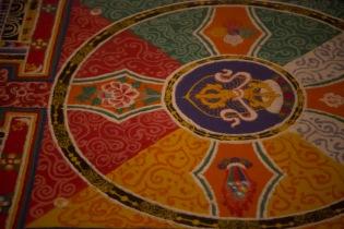 Sand mandala, Gyantse