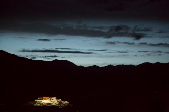Potala by night