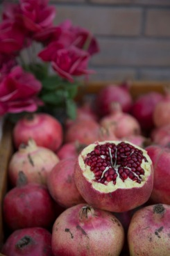 Pomegranates, Kashgar