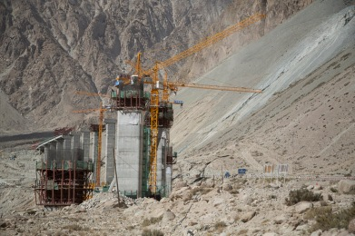 KKH under construction
