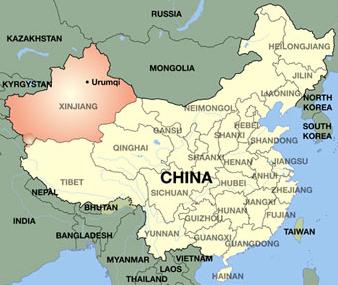 Where is Xinjiang?