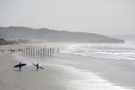 St Clair surfers