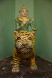 Nat on a tiger