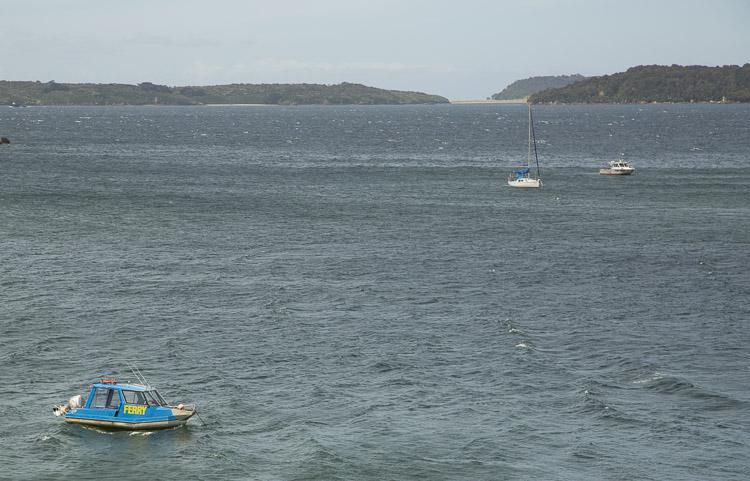 Ferry, Stewart Island