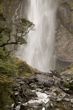 Waterfall, Arthur's Pass