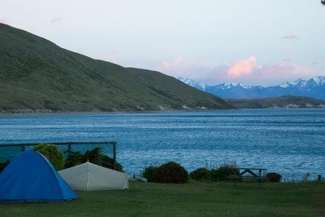 Tekapo campsite