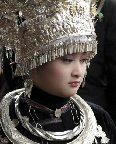 Dong girl, Guizhou