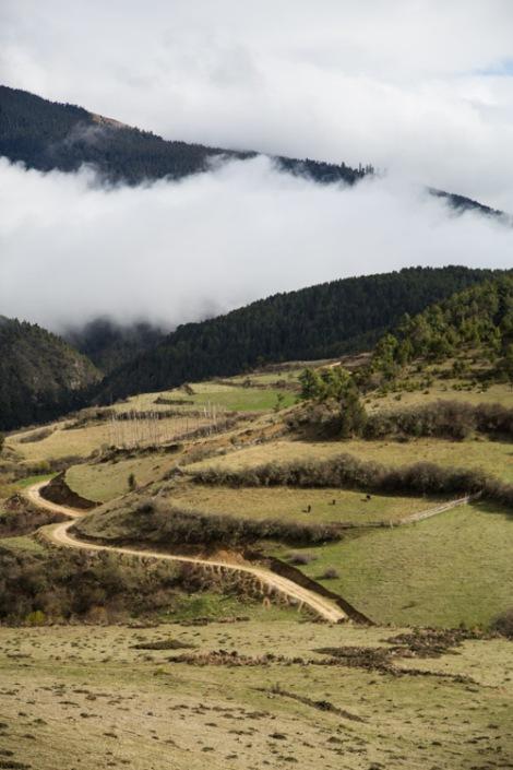 A winding road in Ura