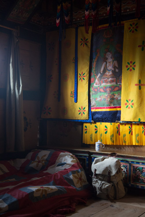 Altar room bed