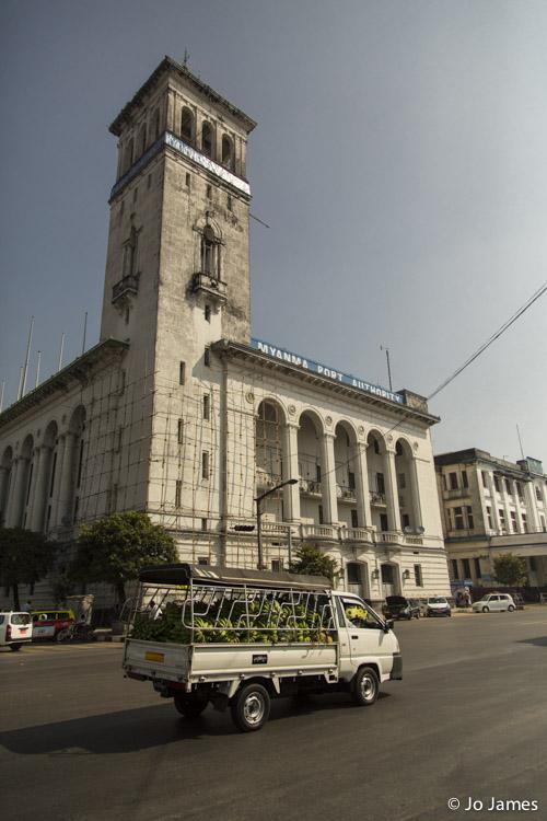 Truck, Yangon